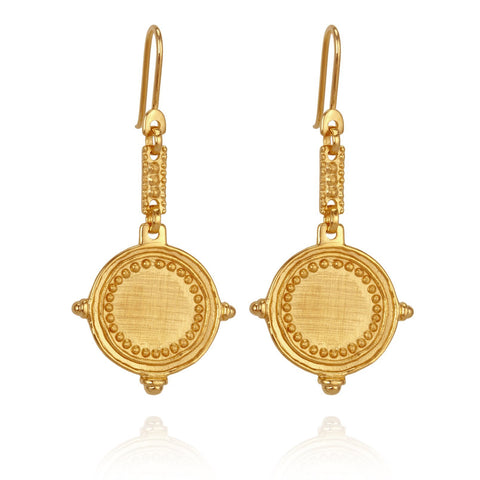 Temple of the Sun - CELIA EARRINGS GOLD