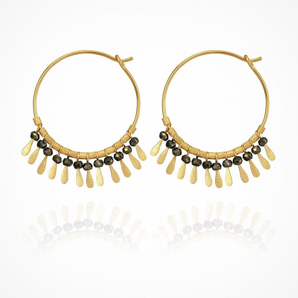 Temple of the Sun - Elli Earrings Gold