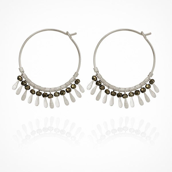 Temple of the Sun - Elli Earring Silver