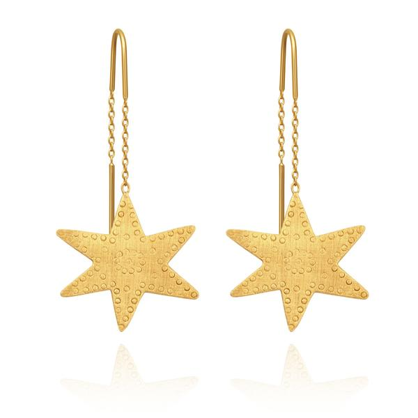Temple of the Sun - Astra Earring Gold