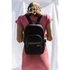 Prene Bags - THE BACKPACK (BLACK) NEOPRENE BAG