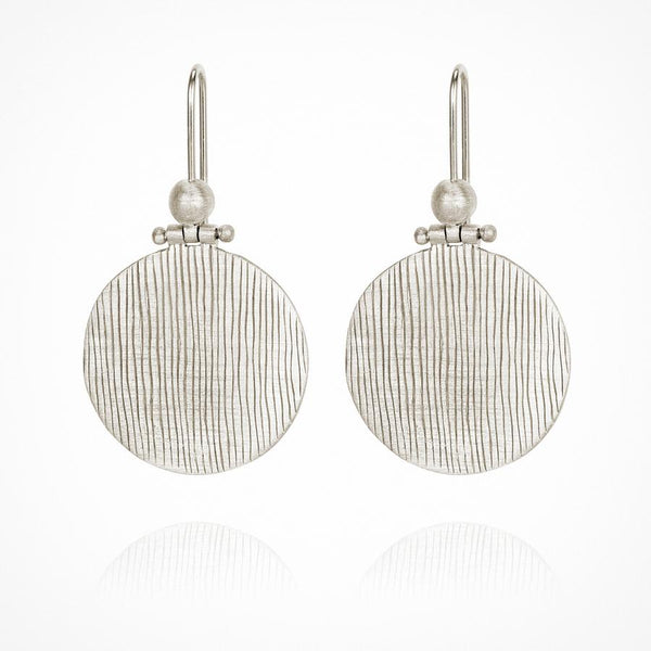 Temple of the Sun - Rei Earring Silver