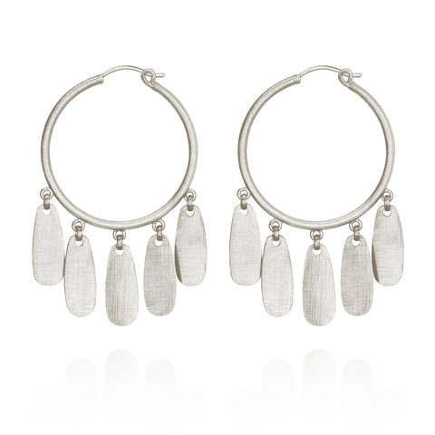 Temple of the Sun - ZARA EARRINGS SILVER