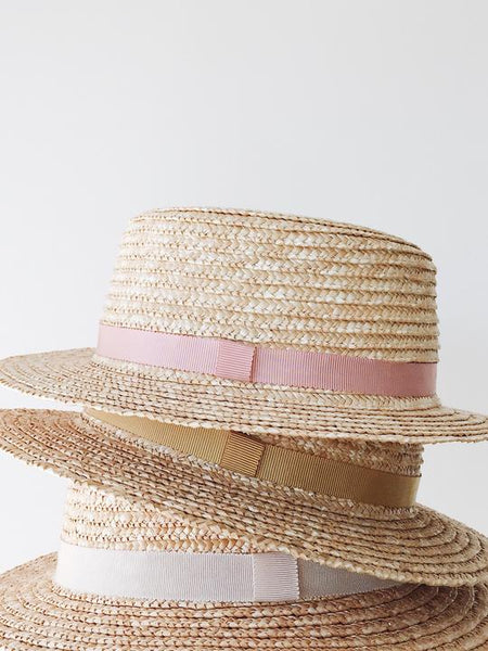 Lion + Lamb the Label - PIPPIN BOAT HAT BLUSH