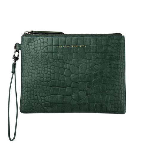 Status Anxiety - Fixation Clutch Teal Croc