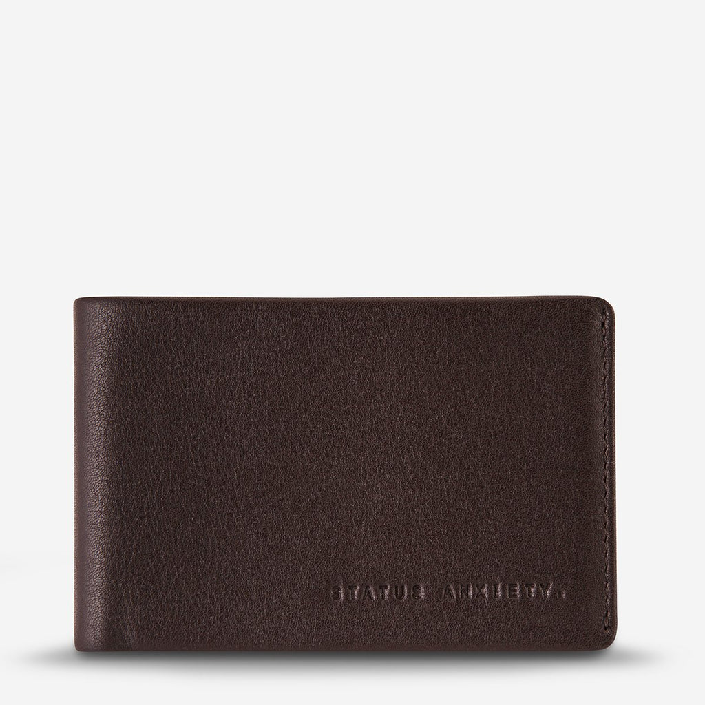 Status Anxiety - Quinton Wallet Chocolate
