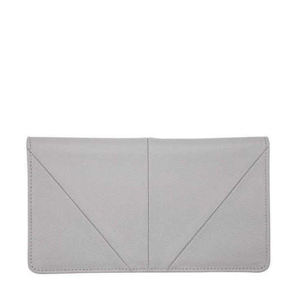 Status Anxiety - Triple Threat Wallet Light Grey