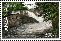 Environmental Care - Catchment areas for clean water - Philately Tanzania stamps