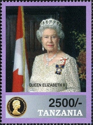 80th Birthday of HM Queen Elizabeth II - Philately Tanzania stamps