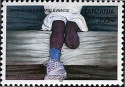 Anniversaries & Events - Diabetes leads to Amputation - Philately Tanzania stamps