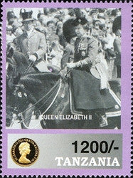 HM Queen Elizabeth II - The Sixth Decade - Philately Tanzania stamps