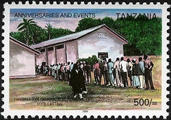 Anniversaries & Events - Tanzania 2005 General Elections - Philately Tanzania stamps