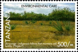 Environmental Care - Soil - Philately Tanzania stamps