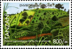 Environmental Care - Regeneration - Philately Tanzania stamps