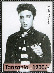 Elvis Presley (1935-1977) - Philately Tanzania stamps