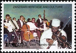 Zanzibar Heritage and Culture - Local Taarabu Music - Philately Tanzania stamps