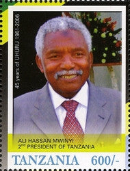 45th Anniversary of Tanzania Independence (1961-2006) - Ali Hassan Mwinyi - Philately Tanzania stamps