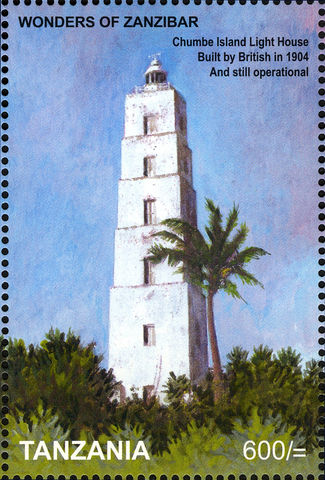 Chumbe - Philately Tanzania stamps