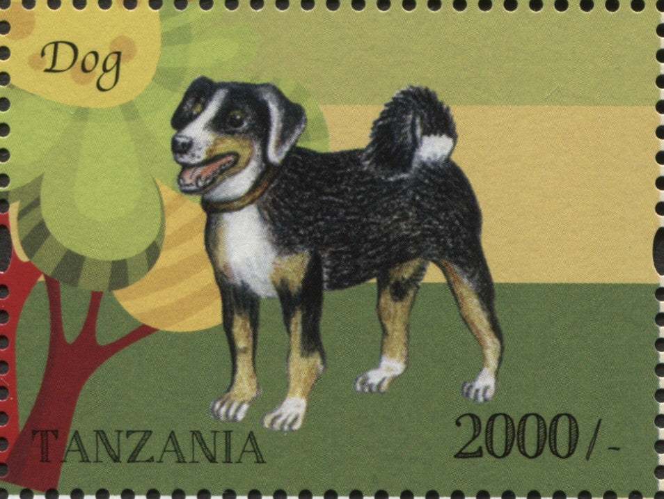 Farm Animals - Dog - Philately Tanzania stamps