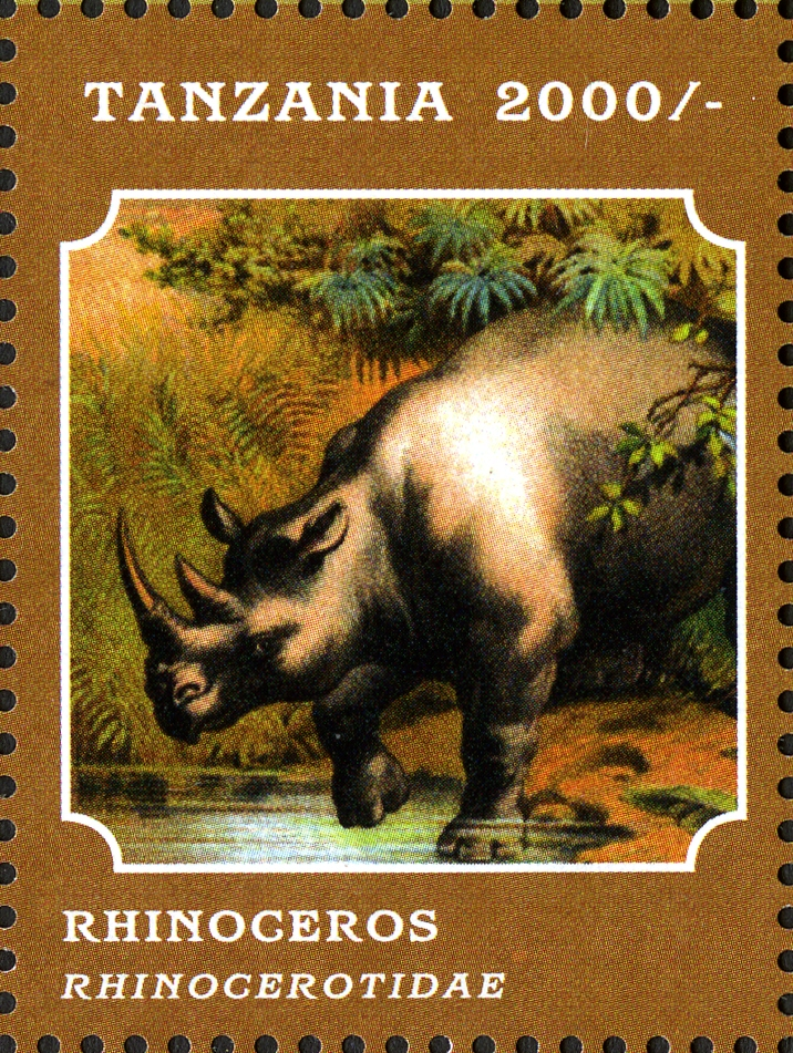 Fauna (Mammals) - Philately Tanzania stamps