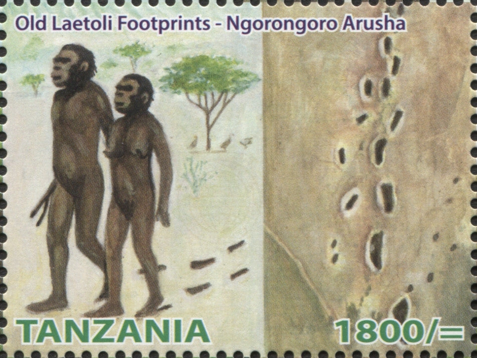 Heritage Site -Ngorongoro - Philately Tanzania stamps