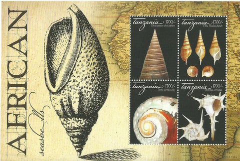 Flowers of Africa - Sheetlet - Philately Tanzania stamps
