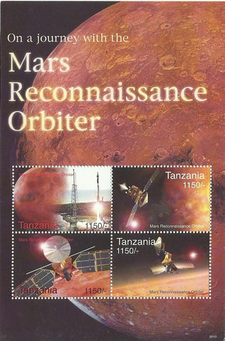 Space Anniversaries - Sheetlet - Philately Tanzania stamps
