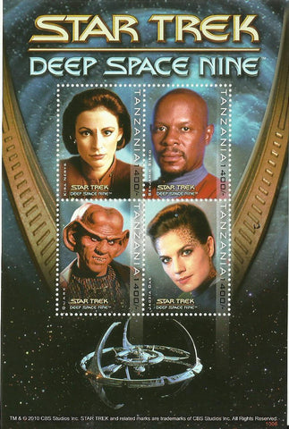 Star Trek voyager - Sheetlet - Philately Tanzania stamps