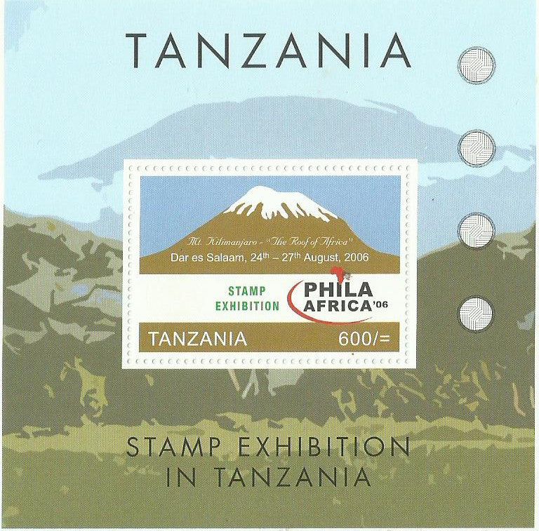 Phila-Africa Stamp Exhibition '06 - Souvenir - Philately Tanzania stamps