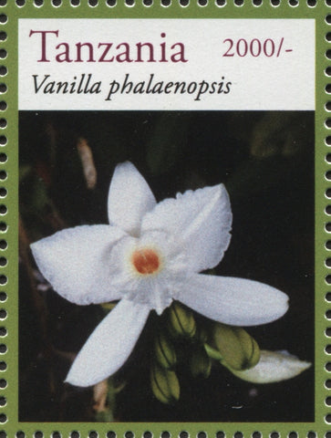 Orchids - Vanilla - Philately Tanzania stamps