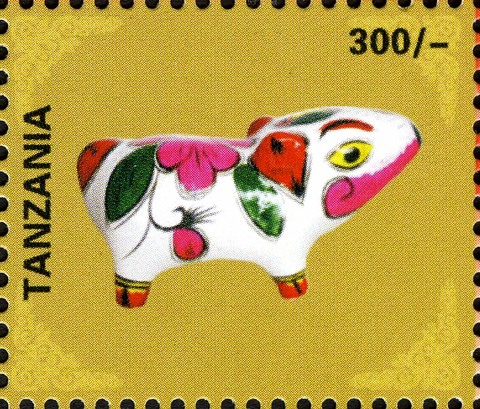 Holy Days & Celebrations (Chinese New Year) - Philately Tanzania stamps