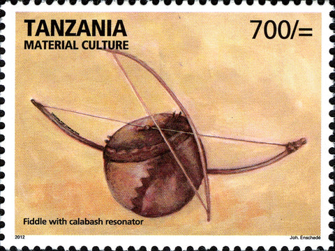 Fiddle - Philately Tanzania stamps
