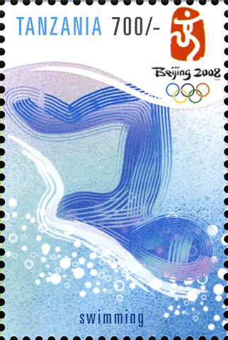 Game-Summer Olympics - Philately Tanzania stamps