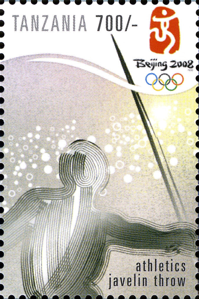 Games-Summer Olympics - Philately Tanzania stamps