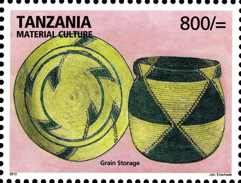 Grain storage - Philately Tanzania stamps