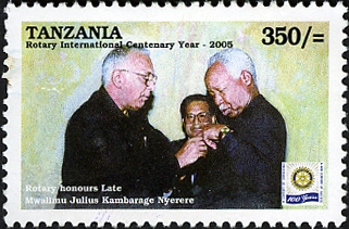 President Julius Kambarage Nyerere - Philately Tanzania stamps