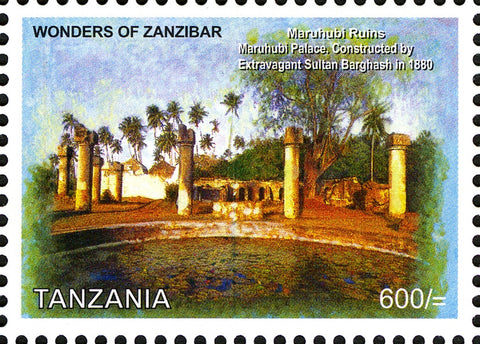 Maruhubi - Philately Tanzania stamps