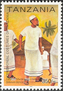 Msewe Culture - Philately Tanzania stamps