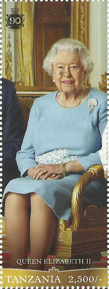 Royal Family-Queen Elizabeth II - Philately Tanzania stamps