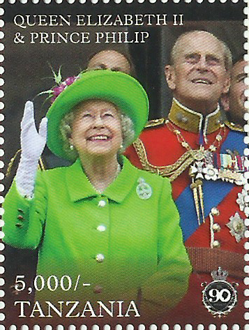 Royal Family - Philately Tanzania stamps