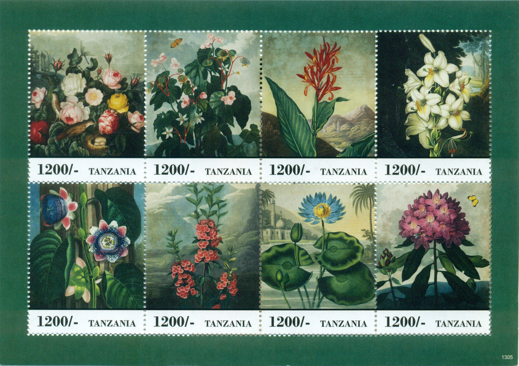 Fauna and Flora of Africa - Sheetlet - Philately Tanzania stamps