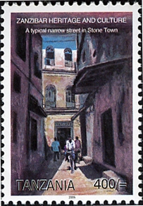 Zanzibar Heritage and Culture - Stone Town - Philately Tanzania stamps