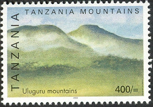 Uluguru Mountain - Philately Tanzania stamps