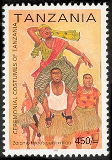 Zaramo Culture - Philately Tanzania stamps