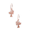 BOAB TREE ROSE GOLD EARRINGS