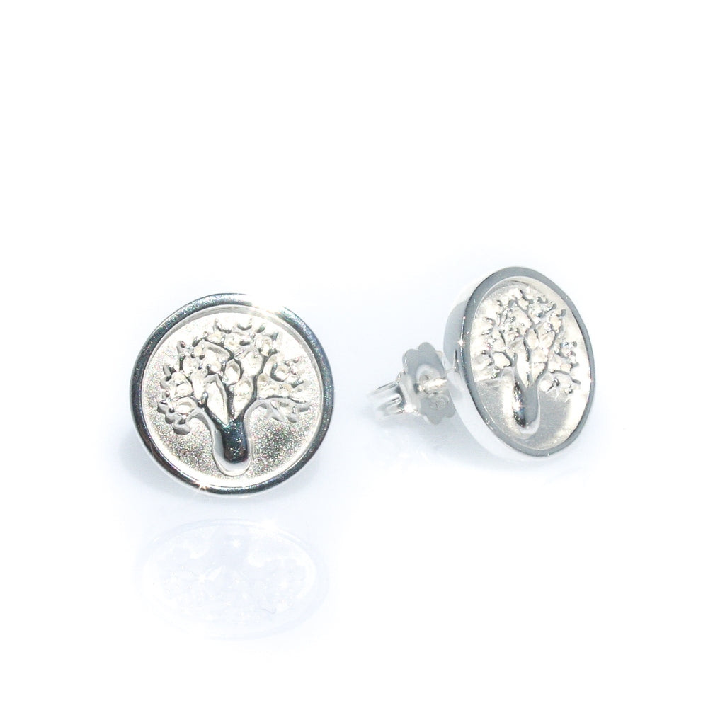 boab tree earrings tree of life