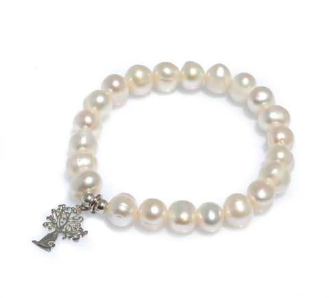 BRAID TRIPLE PEARL ANKLET