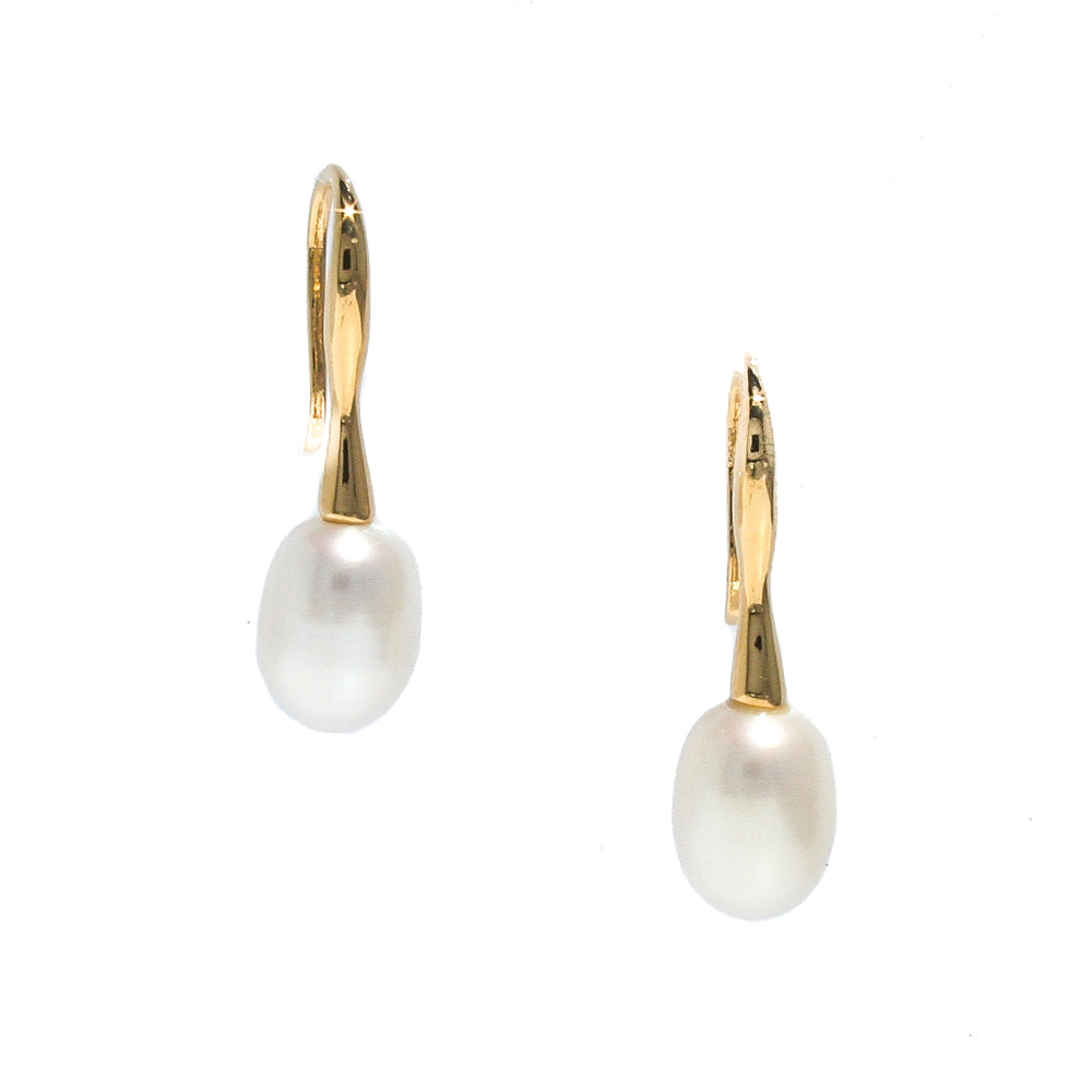 broome pearl earrings gold elegant