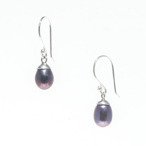DAINTY DROP PEARL EARRINGS