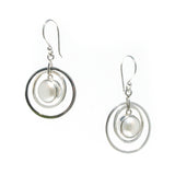 ladies pearl earrings